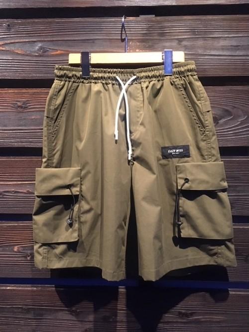 Eazy Miss  Cargo Half Shorts  Green  Mサイズ