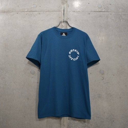 NOTHIN'SPECIAL FLASH LOGO TEE / TEAL