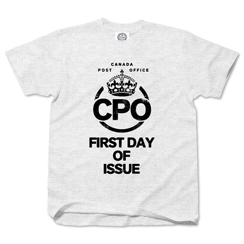 First Day Of Issue CPO ashgray