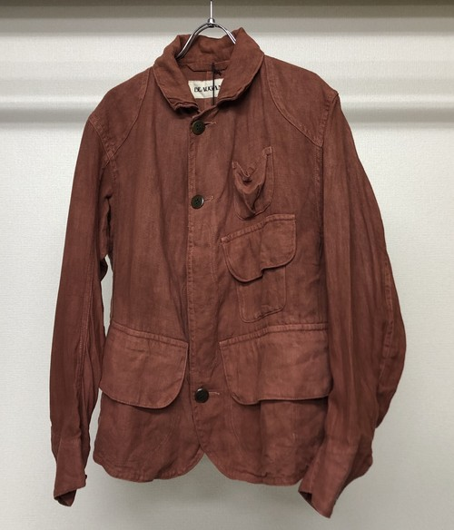 BEAUGAN HARTOG JACKET RED CLAY