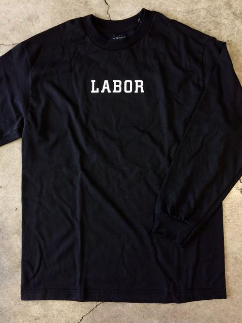 [ LABOR ] WORDMARK L/S TEE