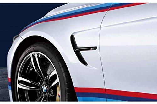 (予約商品)BMW F80 M3 コンペティションPKG用 ブラック サイドグリルオーナメント