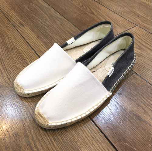 SOLUDOS ソルドス Original Heavy Woven Canvas (Color White*Black)