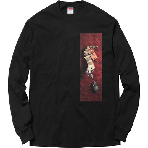 Supreme Mike Hill Snake Trap L/S Tee