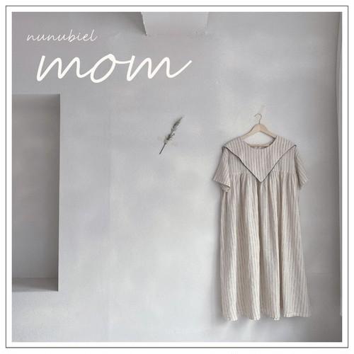 NUNU BIEL / 三角襟OPS(mom)