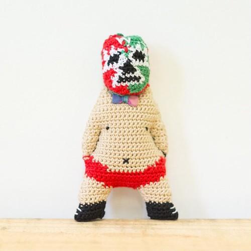 【W】ワーク・ザ・コージーのマスコット(ストラップ) - 編みぐるみ -
