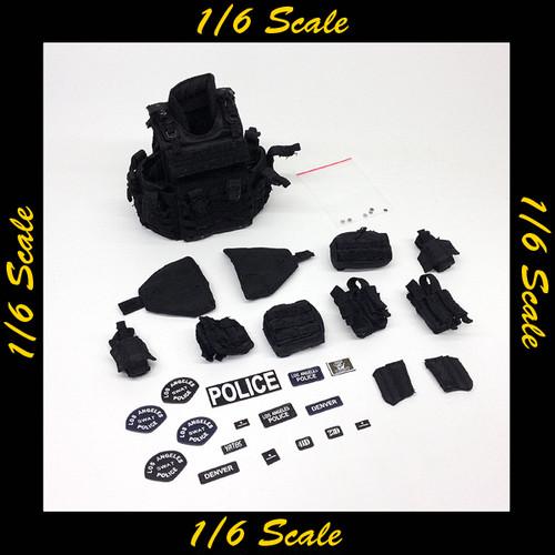 【02000】 1/6 DID LAPD SWAT 2.0 MKII タクティカルプラットホームセット
