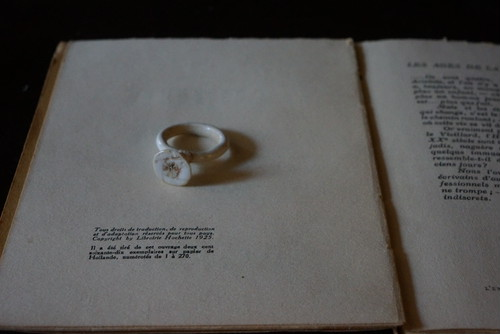 "po.ring  ""ROSE""  size/ 17"