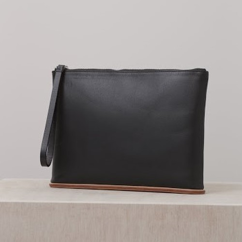 【Building Block】Large Pouch/A=BLACK
