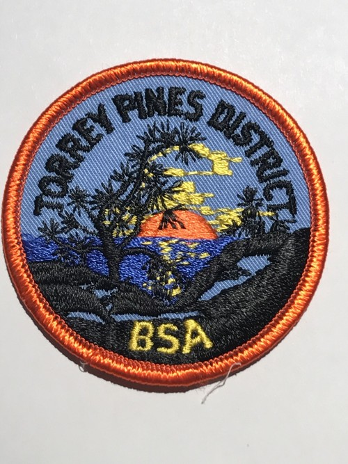 "Patch""TORREY PINES DISTRICT"""