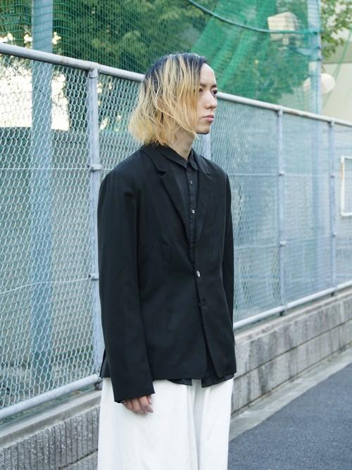 kujaku 19A/W 花韮(hananira)jacket green
