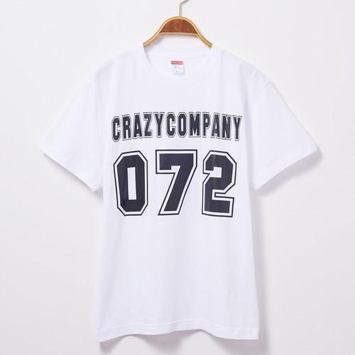 Tシャツ 「072」 白T 文字T おもしろT 半袖 T-shirt クレイジー  オナニー CrazyCompany