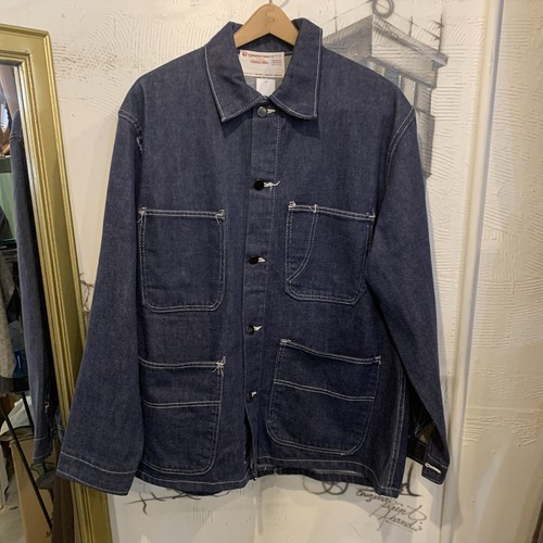 UNIVERSAL OVERALL denim coverall jacket
