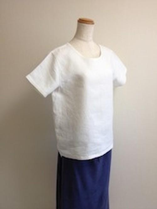 Lady'sヘンプ100% 布帛Tシャツ