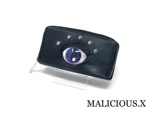 【オーダー品】 reptiles eye iPhoneX & coin case