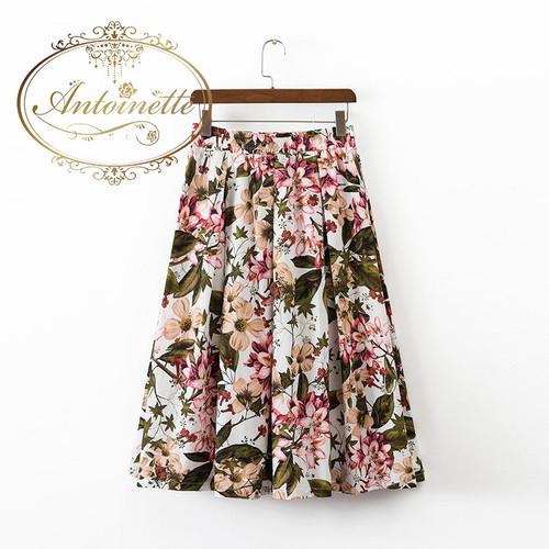レディース スカート 花柄 柄物 かわいい 安い お買い得 秋色探し お洒落さんと繋がりたい 秋