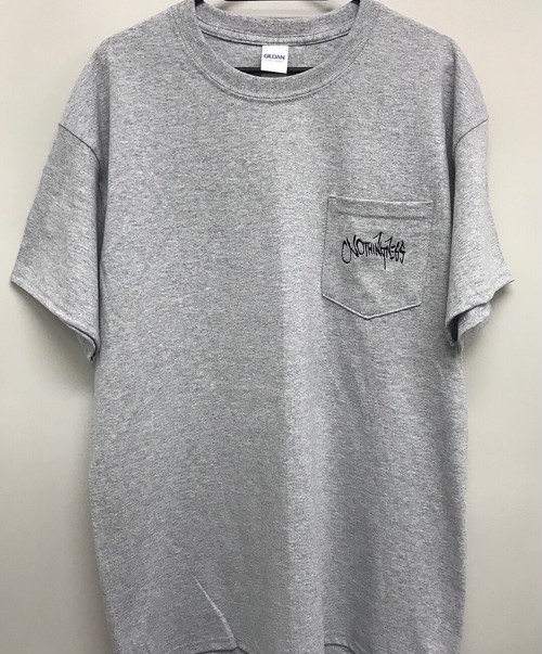 pocket T-shirts(GRAY)