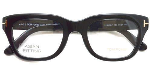 TF5178F 001 (Black) Asian Fit / TOMFORD