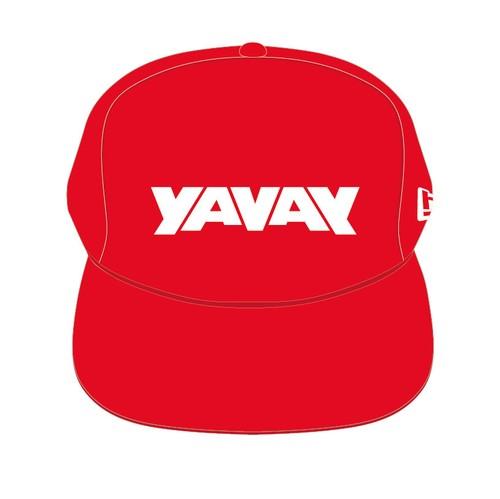 オフィシャル「YAVAY」キャップ(ヤバ赤)