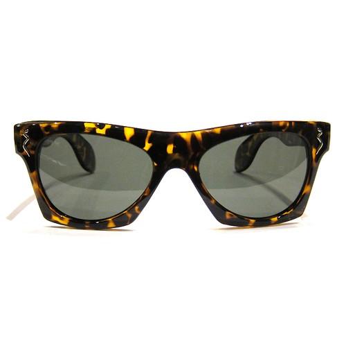 "Shady Spex ""New York Night Train"" sunglasses, Shiny Torto w/Polarized Lens"