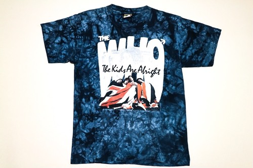 USED THE WHO TIEDYE TEE
