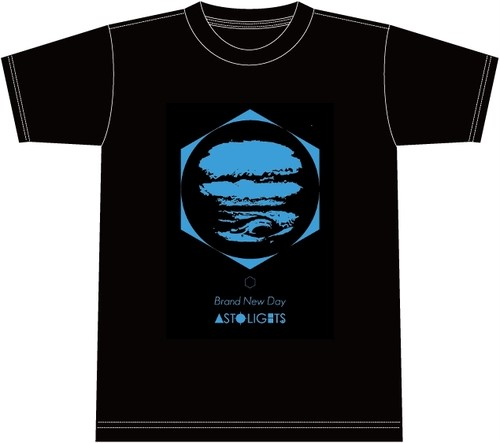 【通販】AstoLights - BRAND NEW DAY T shirt (Black)
