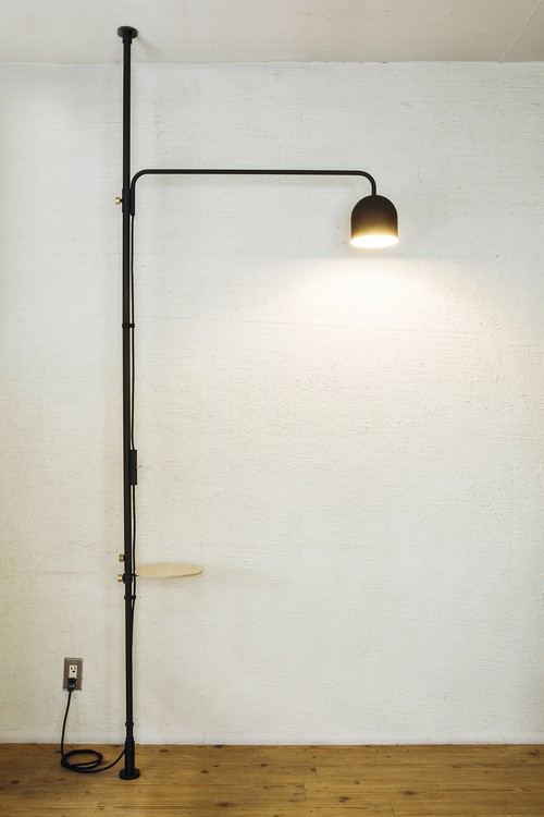 LampC SET ブラック 取付寸法200~275cm