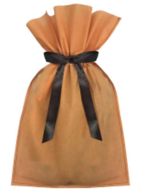 プレゼント包装・ラッピング オレンジ
