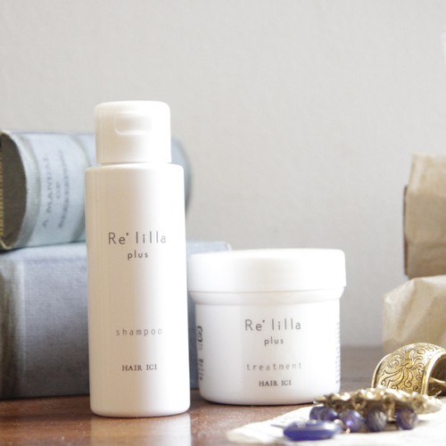 NEW Re'lilla|「plus」 travel set(shampoo 50g  treatment 50g)