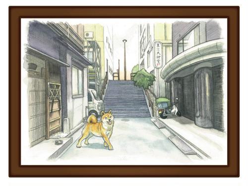 003 東京大神宮下石段 レプリカ
