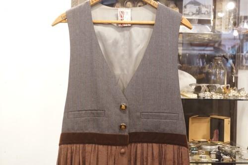 80's NEIL & DAVID remade jumper Dress