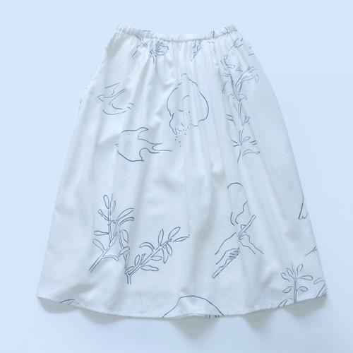 【受注商品】 スカート -「フルート」