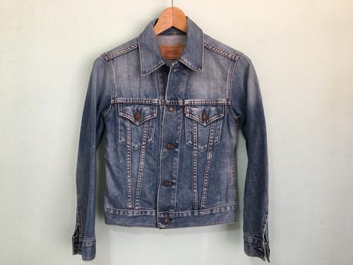 Levis リーバイス 78500 デニムジャケット ジージャン 細身 綺麗なシルエット / 70505 サード