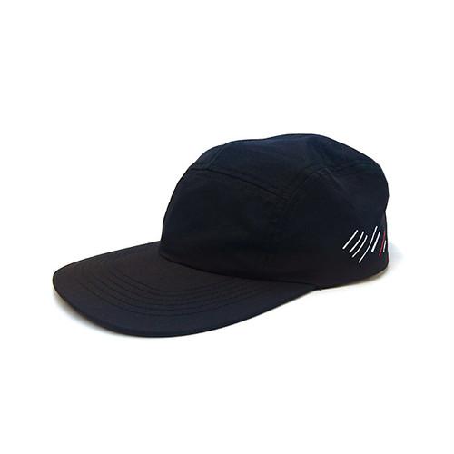 scar /////// BLOOD NYLON CAMP CAP (Black)