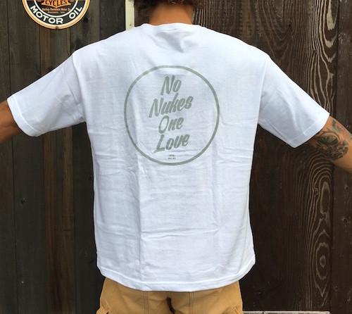 Back print NNOL  Wide pocket T-shirts