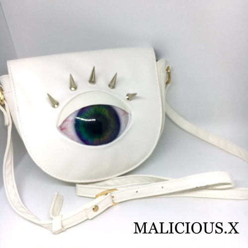 eye  shoulder bag / marble