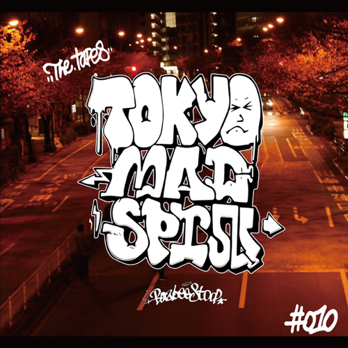 BazbeeStoop - The Tapes : 【CD】Tokyo Mad Spin MIX #010 SELFTITLED (2020) -