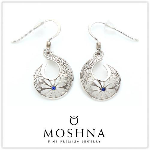 【MOSHNA:モシュナ】Blue Spiral ブルーコレクション ピアス
