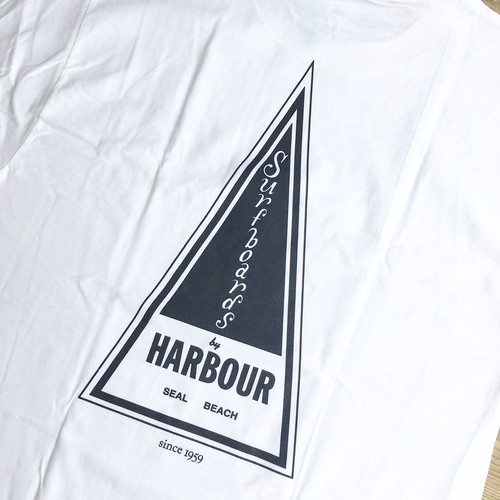 "Last Wave ""HARBOUR Surfboards"" S/S Tee"