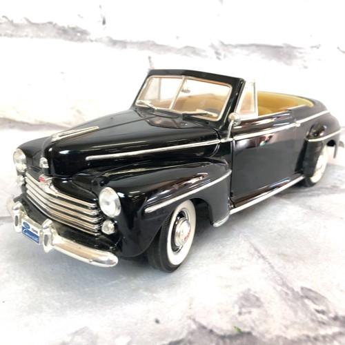 品番1230 1/18スケール Road Signature 1948年 FORD フォード コンバーチブル ブラック  ダイキャストカー 011