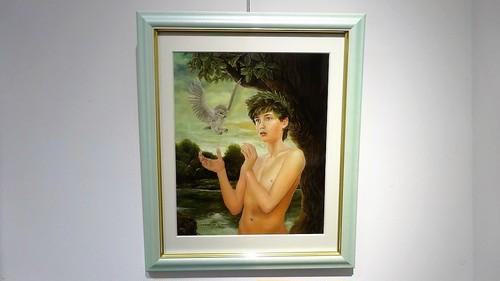 絵画「神鳥の贈物」(2005年)