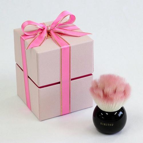 ミニバラ パウダーブラシ ピンク