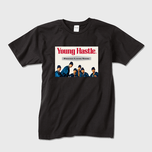 Forever Living Young Crew-Neck T (BLK)