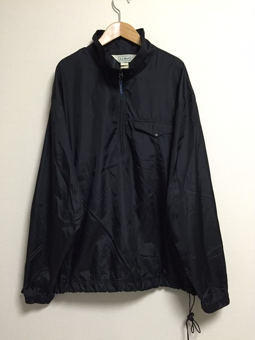 used L.L.Bean nylon pullover