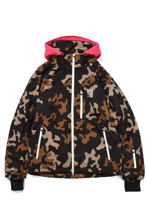 All Mountain Jacket DVA-2 / camo x pink