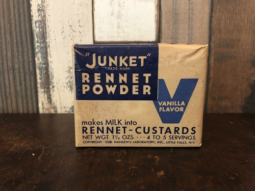 JUNKET「RENNET POWDER」ヴィンテージスパイス缶