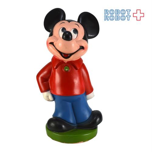プレイパル ミッキーマウス ソフビ貯金箱
