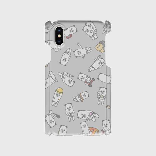 iPhoneケース(パンダおっさん)
