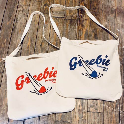 Swimming Club Bag【Red/Blue】