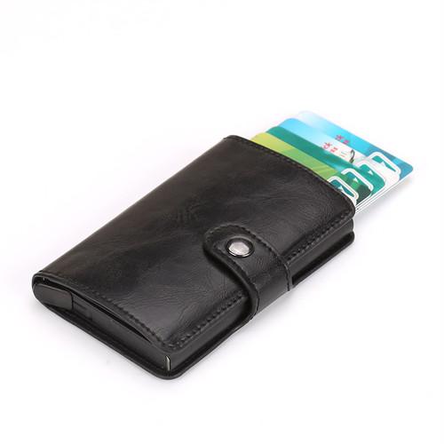 送料無料 kawauso【手帳型 カードケース メンズ  】マネークリップ スキミング防止 クレジットカード 収納  磁気防止 RFID